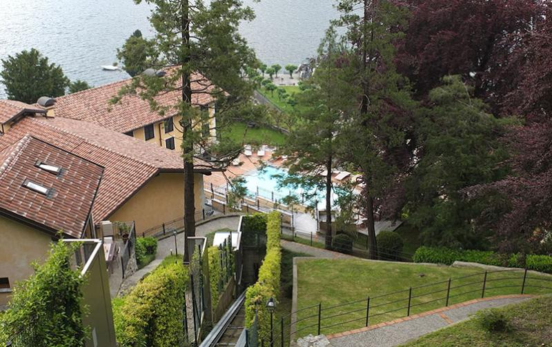 from the parking - your home a step away from the lake - Molina di Faggeto Lario - rentals
