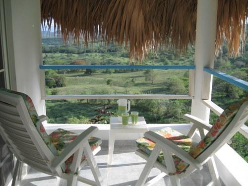 Balcony with amazing views - Sugar Shack. Tropical love nest/pool/beach/breezes - Luperón - rentals