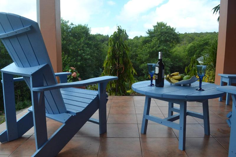 Private Deck - Marlin Villa, Belle Isle - Saint David - rentals