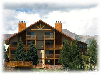 Ponderosa Condominiums: Our unit occupies the 3rd and 4th floor on the right. - Best Deal! HUGE 4 BR Condo Views Hike & Bike - Crested Butte - rentals
