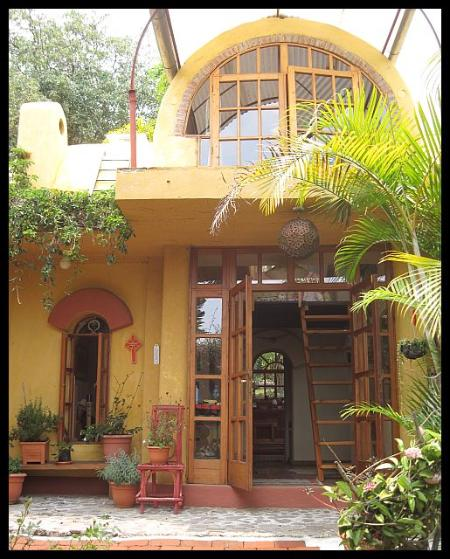 Front of House with main entrance - House and casita in oasis MAY-OCT 2015 BOOK NOW! - Solola Department - rentals