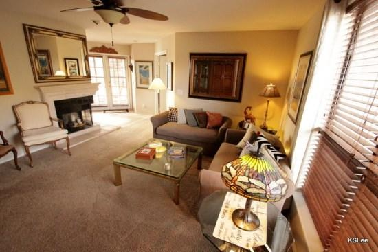 Living Room - One Bedroom with Den in Building 4. Enjoy Mountain Views at Canyon View in Loews Ventana Canyon - Tucson - rentals