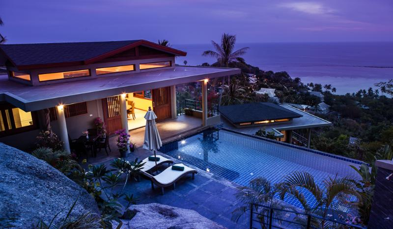 Stunning Villa Crystal - Brand New Panoramic Ocean View One Bedroom Villa - Koh Samui - rentals
