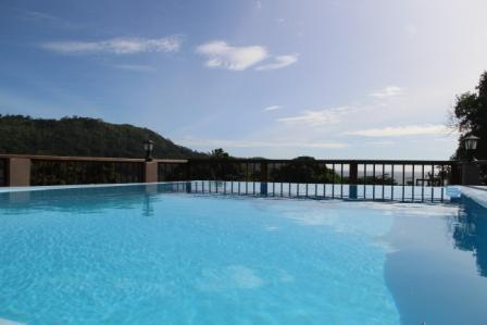 Swimming pool with panoramic view - StephNa Residence selfcatering - Victoria - rentals