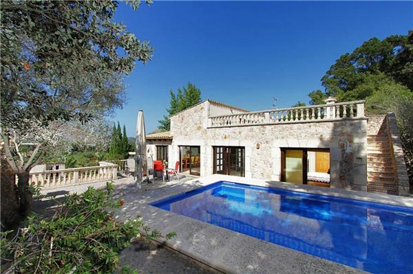 Holiday house for 8 persons, with swimming pool , in Pollenca - Image 1 - Pollenca - rentals