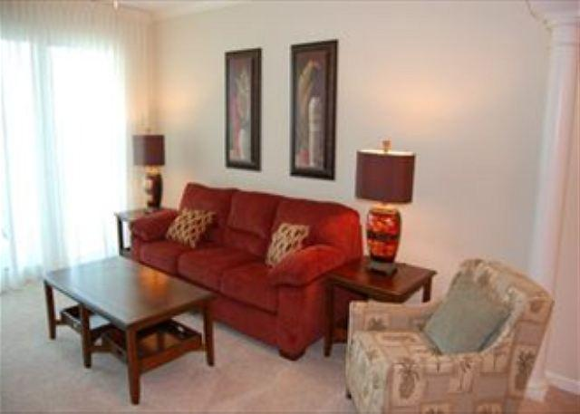 Living Room - Beautiful 2 Bedroom / 2 Bathroom Condo w/ Bonus Overlooking the Gulf LT2-708 - Gulfport - rentals