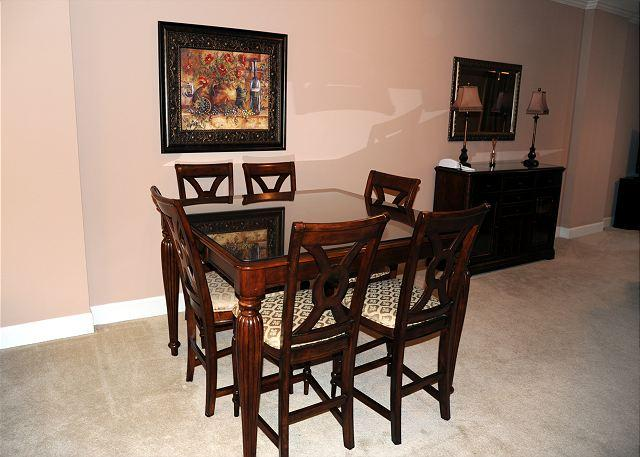 Dining Room - Beautiful 2 Bedroom / 2 Bathroom Condo Directly on the Beach SB-409 - Biloxi - rentals