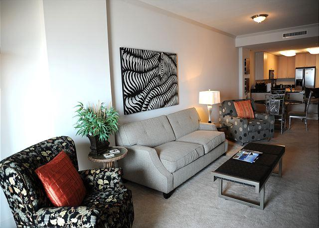 Livingroom - Beautiful 2 Bedroom / 2 Bathroom Condo Directly on the Beach SB-704 - Biloxi - rentals