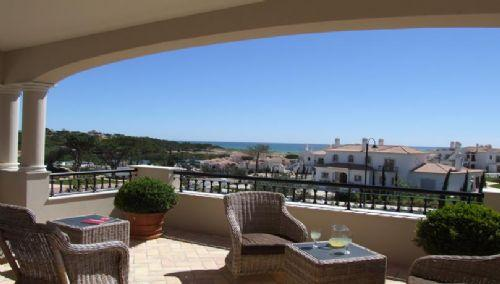 Dunas Douradas Beach Club: Luxury Two Bedroom 1st Floor Apartment with Roof Terrace (Dunas Zone) - Image 1 - Almancil - rentals