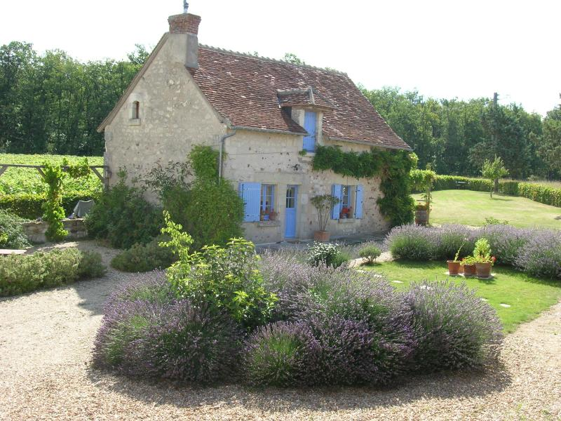 The Cottage and courtyard - The Cottage - a lovely, tranquil Loire Valley Gite - Barrou - rentals