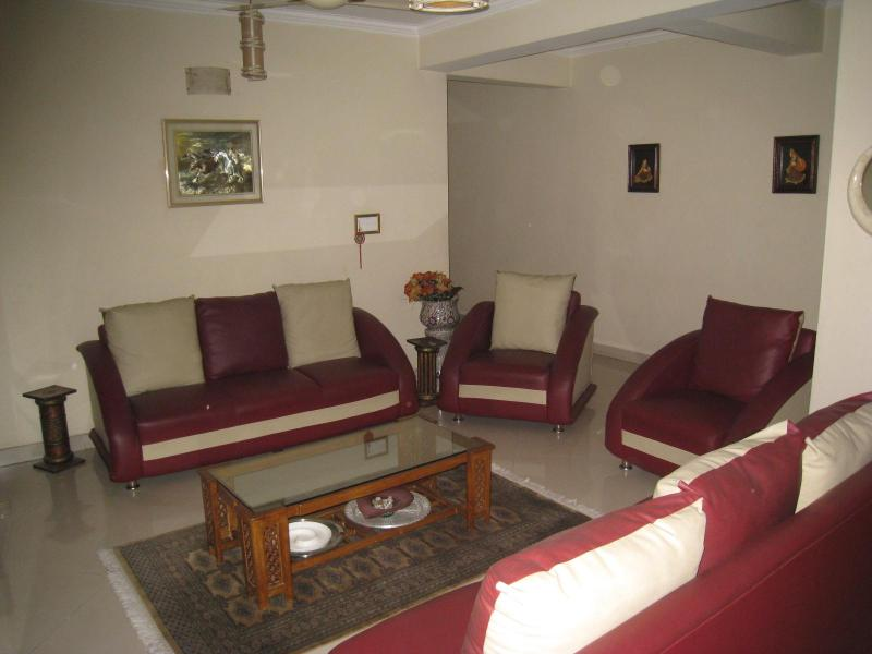 Living room - 4 Bedroom, Garden view, Duplex apartment - Haryana - rentals