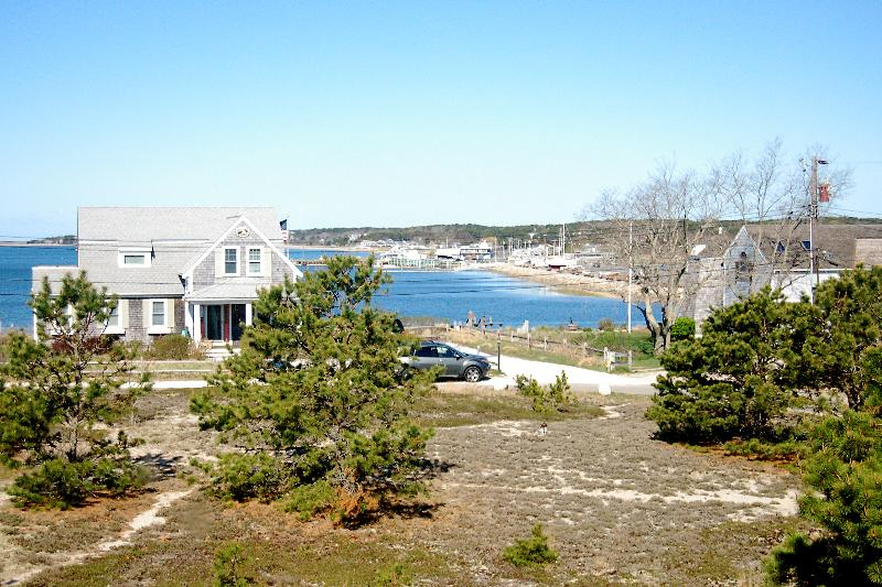 View from home of Harbor area & sunsets - Sunset & Harbor Views- Beach access- Internet - Wellfleet - rentals