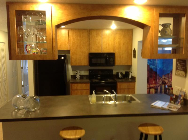 Kitchen with eat at bar - Executive Short Term Rental-Royal Oak, Leesburg,FL - Leesburg - rentals