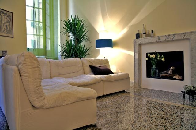 fire place is working! - Luxury Design Flat a Jewel in Town - Genoa - rentals