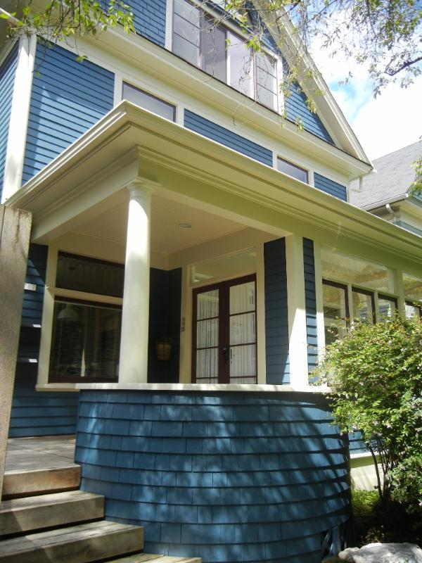 The front of the house. - The Feathered Nest, your home away from home! - Portland - rentals
