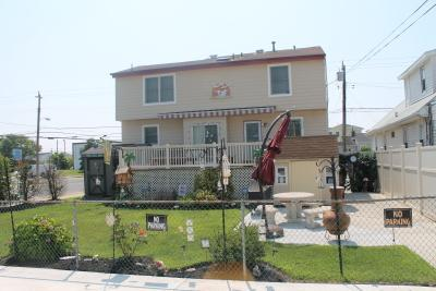 View from Rear of Shore House - Sleeps 6 - 8, Large Covered Deck, Private Parking - Ocean City - rentals