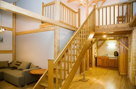 Stairs in the living room - Rataskaevu Old Town 4 - Tallinn - rentals
