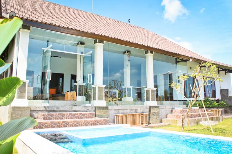 3 BR Family Villa with Ricefield views @Echo Beach - Image 1 - Canggu - rentals