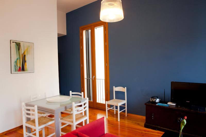 Living room - Luxury apartment in the heart of Trapani just few steps from the beach - Trapani - rentals