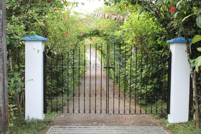 Welcome to CRParaiso -- Front Gate - 65 acre Private and Gated Estate - Nuevo Arenal - rentals