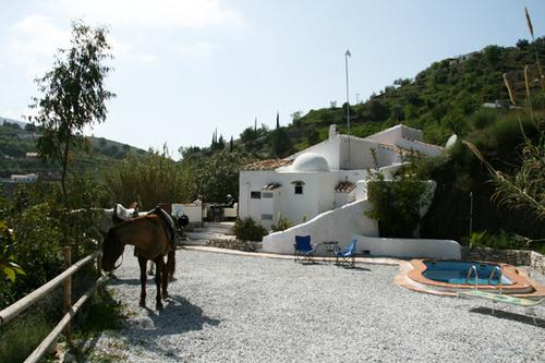 From Driveway - Lovely  Finca with pool - Competa - rentals