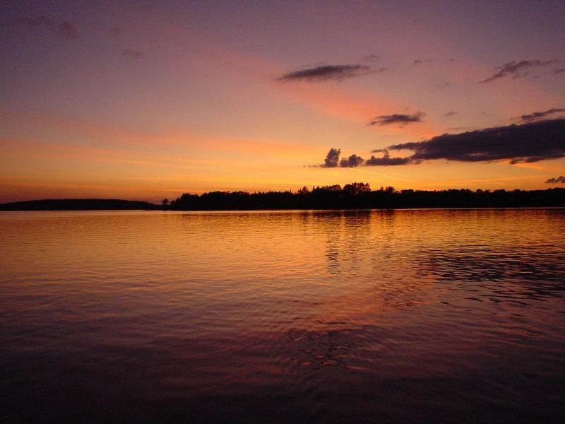 Sunsets at Bear Island Lake - Bear Island Lake 3-Bedroom Vacation Rental - Ely - rentals