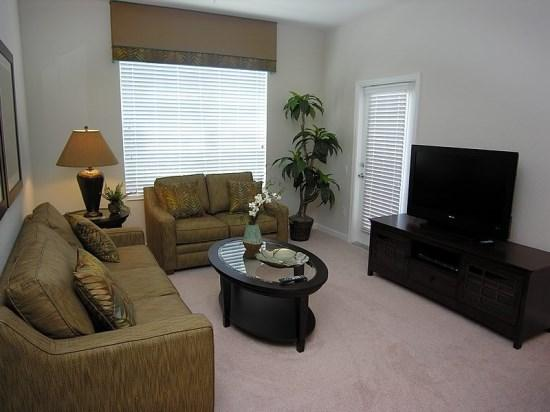 Sitting Room - VC3C4024BD-305 Luxurious 3 Bedroom Condo in Vista Cay Overlooking a Lake - Orlando - rentals