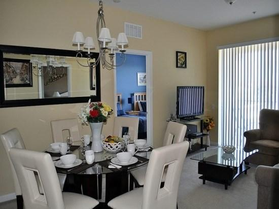 Formal Dining Area - VC3C4126BD-406 Luxurious 3 Bedroom Condo in Vista Cay Near Disney World - Orlando - rentals