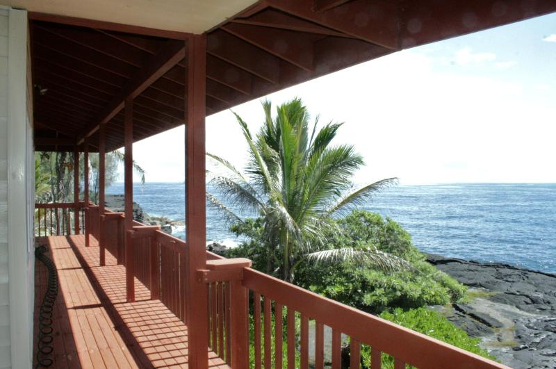 View from upstairs unit - also available - Sixty feet from the Pacific! - Pahoa - rentals