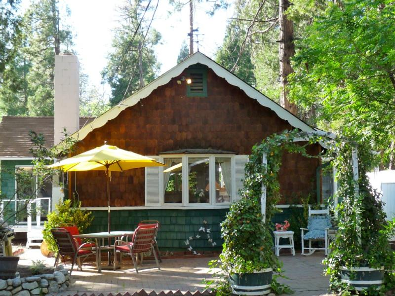 Front of Cottage - Enchanting Cottage on the Creek - Idyllwild - rentals
