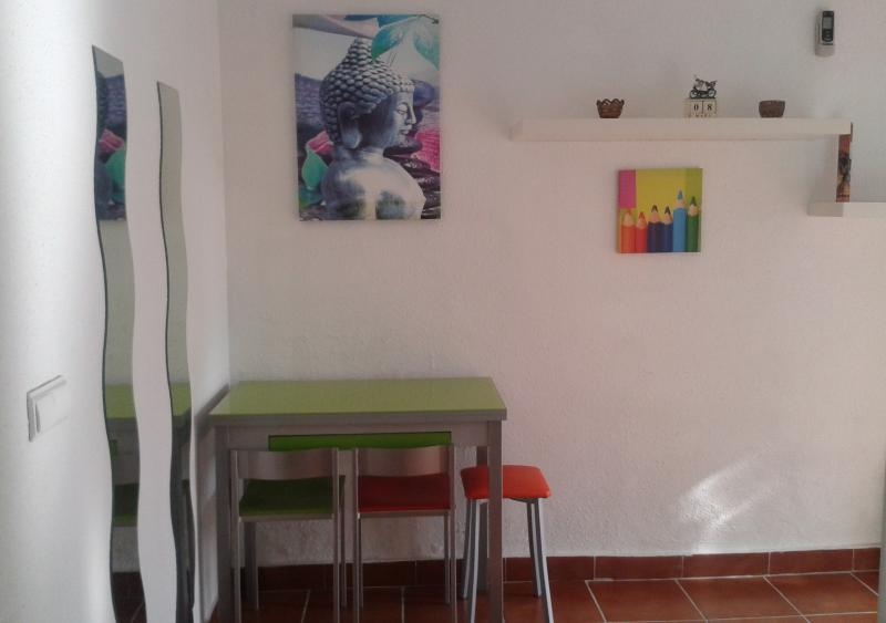 Living room - Studio close to Spanish schools - Malaga - rentals