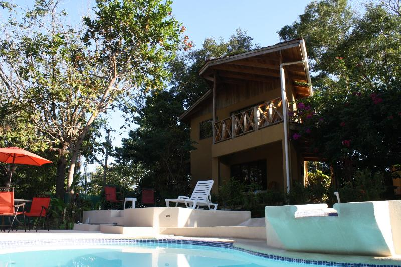 Villa Cocobolo - from the pool - Villa Cocobolo - Private Ocean View Beach Villa - Santa Teresa - rentals