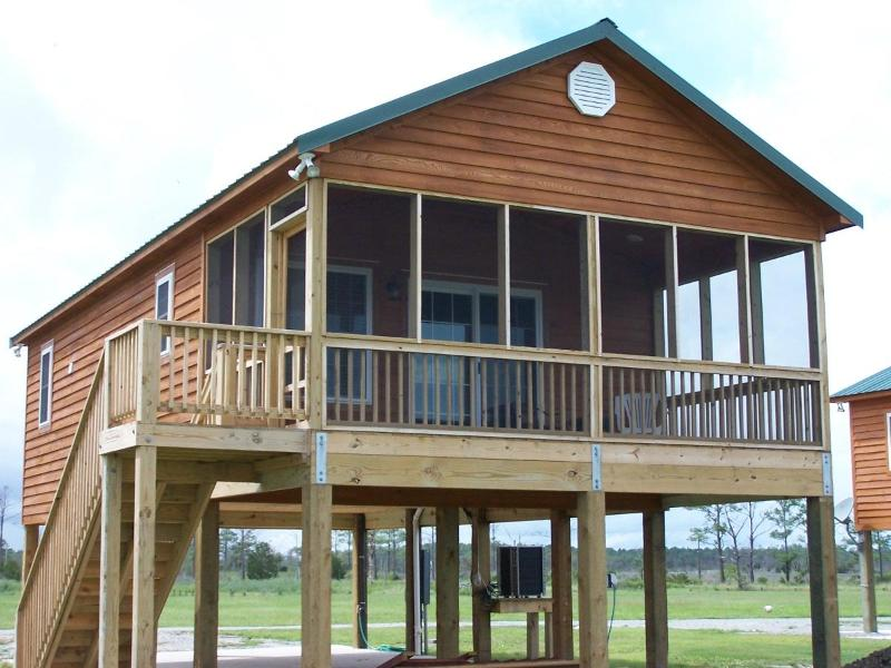 lodge facing waterfront - Waterfront Home on Pamlico Sound Near Outer Banks - Engelhard - rentals