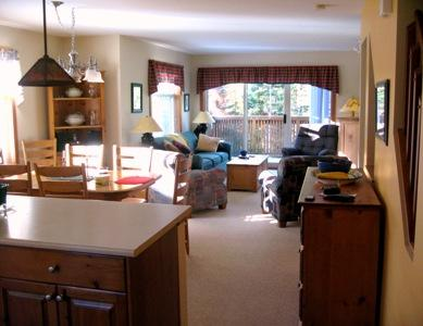 Living & Dining - Forest Trails Condos - 12 - Sun Peaks - rentals