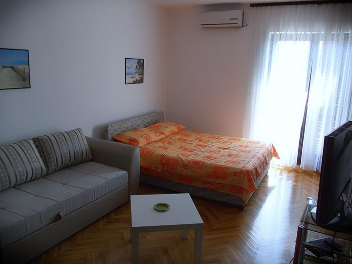 Living room - 5' Walk from Old Town And Beaches - Budva - rentals