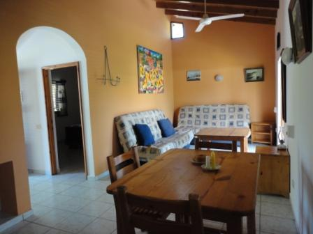 Living room - 1-bedroom apartment with balcony, pool, and garden - Las Terrenas - rentals