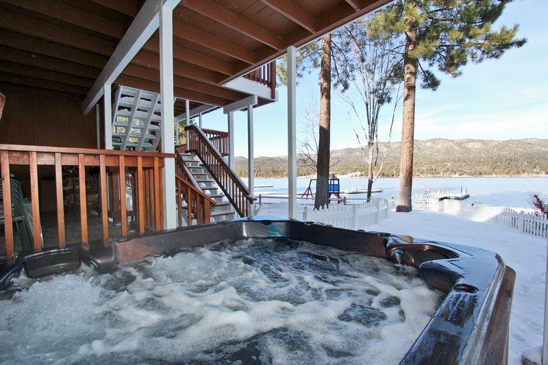 Relax and enjoy the spectacular views. - Lakefront Manor - Luxurious! Boat Dock! Spa! Pool! - Big Bear Lake - rentals