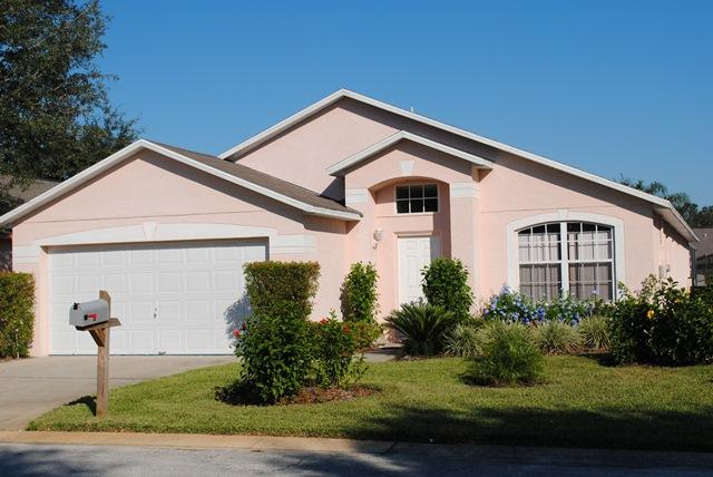 Front of Villa - Luxury Villa with Private Pool 8 miles from Disney & near golf - Clermont - rentals