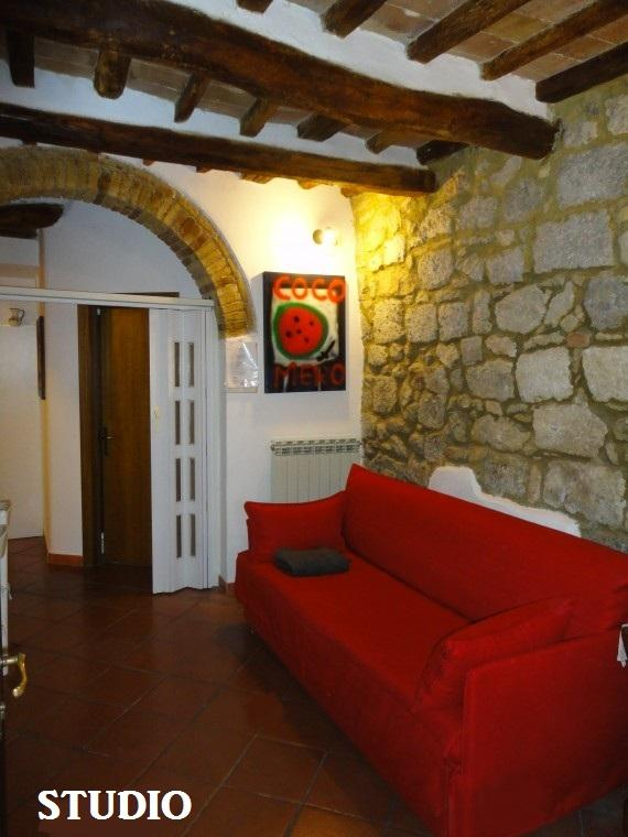 CASA ALADINA: STUDIO RIGHT IN THE CITY S.GIMIGNANO - Image 1 - San Gimignano - rentals