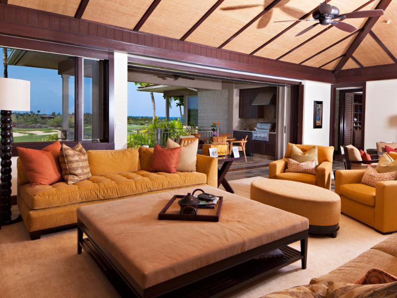 Four Seasons Luxury 3BD Waiulu Villa, Upper Level, Flawless and Chic with Incredible Views - Image 1 - Kailua-Kona - rentals