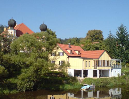 The Forester's Lodge at the river