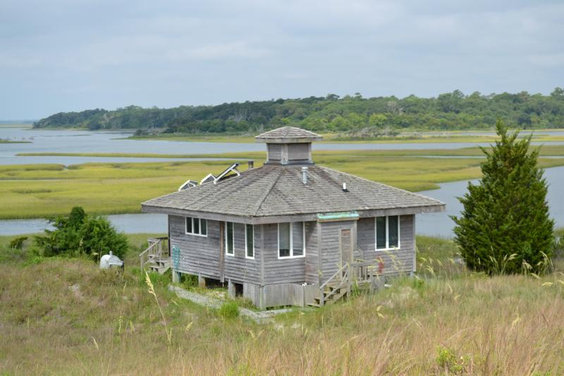 View from sand dune  - Sands Island Refuge - Swansboro - rentals