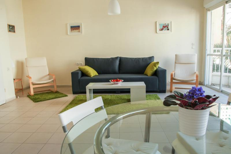 Amazing 2br with balcony& parking beach place - Image 1 - Tel Aviv - rentals
