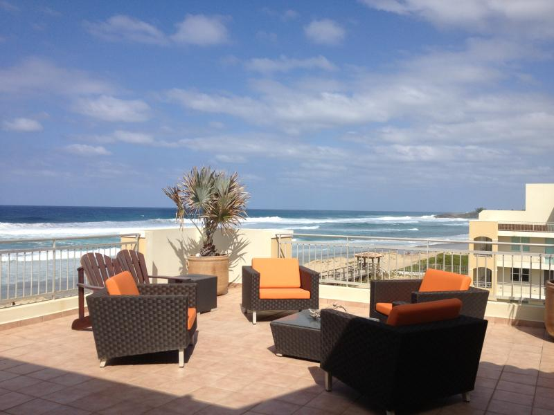 Second Floor Terrace - OCEAN FRONT PH IN HAUDIMAR- AT JOBOS BEACH AND CLOSE TO SHACKS BEACH - Isabela - rentals