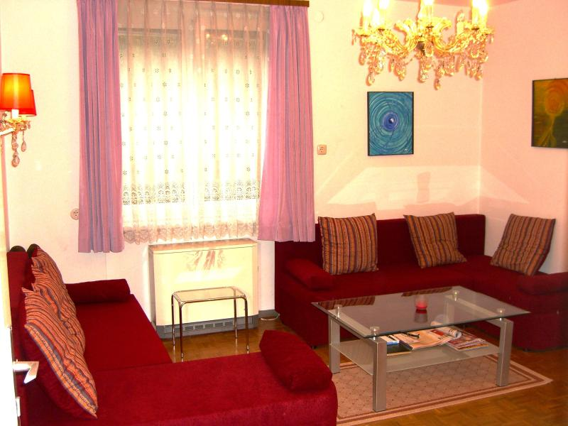 Living room (sleeps 2) - Spacious renov. 2 bedroom apartment in Zell-am-See - Zell am See - rentals