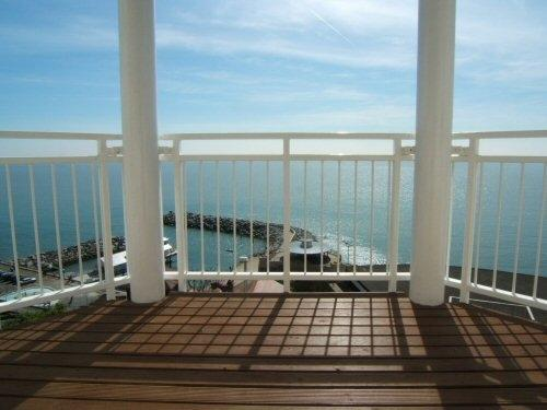 View from Balcony - Luxury Apartment with balcony & fabulous sea views - Ventnor - rentals