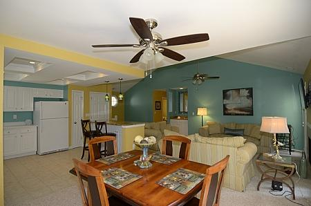 Overall from Dining area - 147 Evian - Hilton Head - rentals