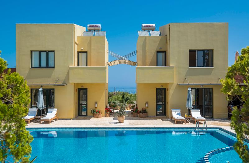 Daphnis Villas -Villa 2  -    200m From The Beach - Image 1 - Chania - rentals