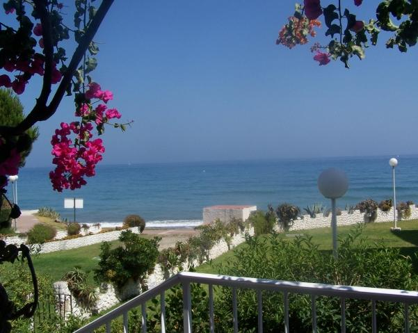 View from balcony - Beachside Garden Apartment -Estepona, Costa de Sol - Estepona - rentals