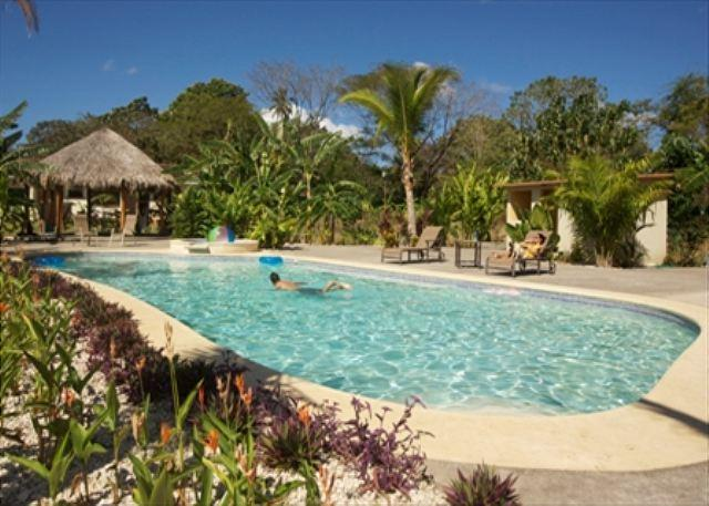 Pool Area - Fabulous Luxury Condo 4 Minutes from Playa Grande, Conchal, and best beaches - Playa Grande - rentals